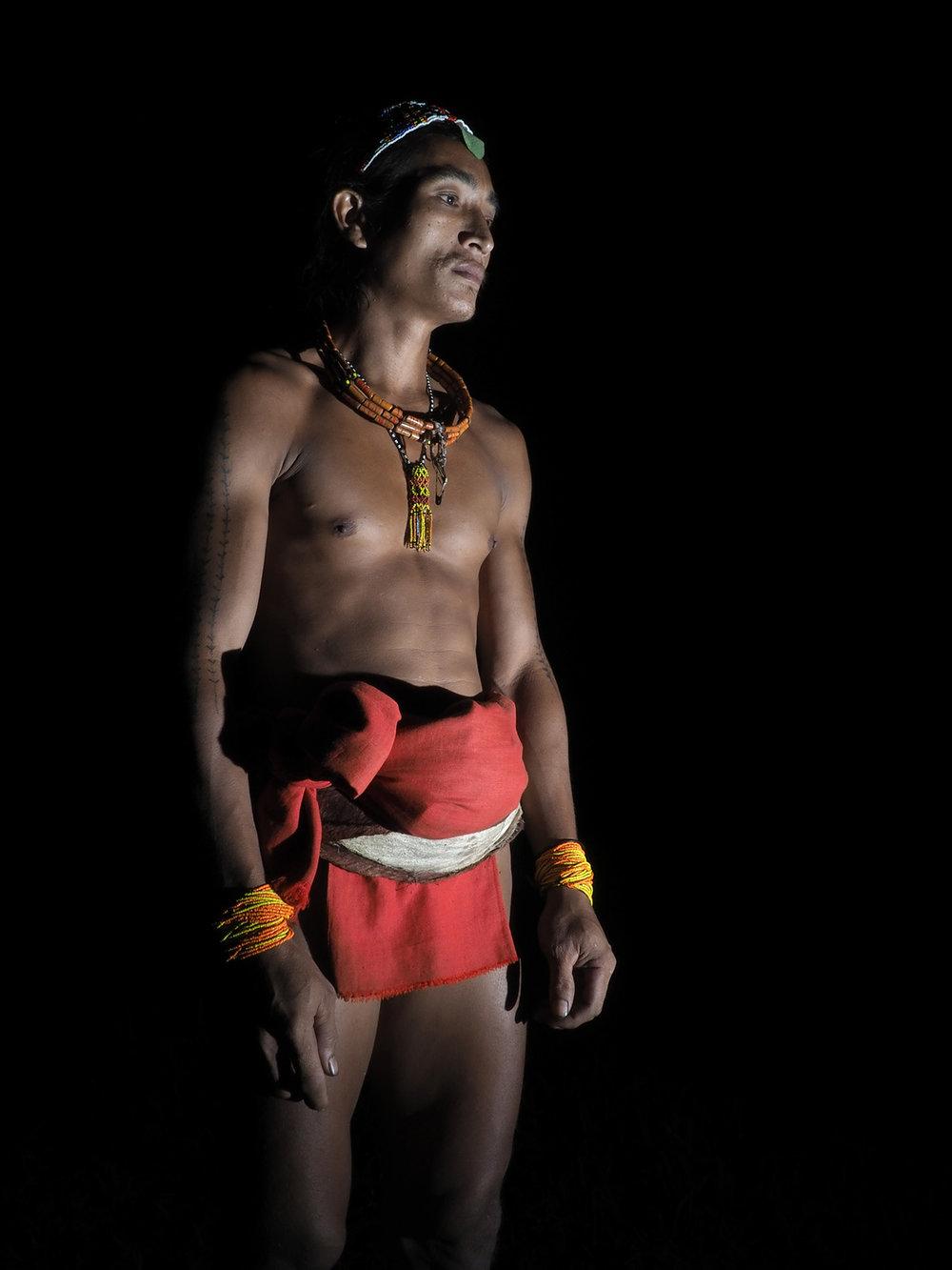 Ranjan_Ramchandani_Portriat of the Mentawai tribesman.jpg