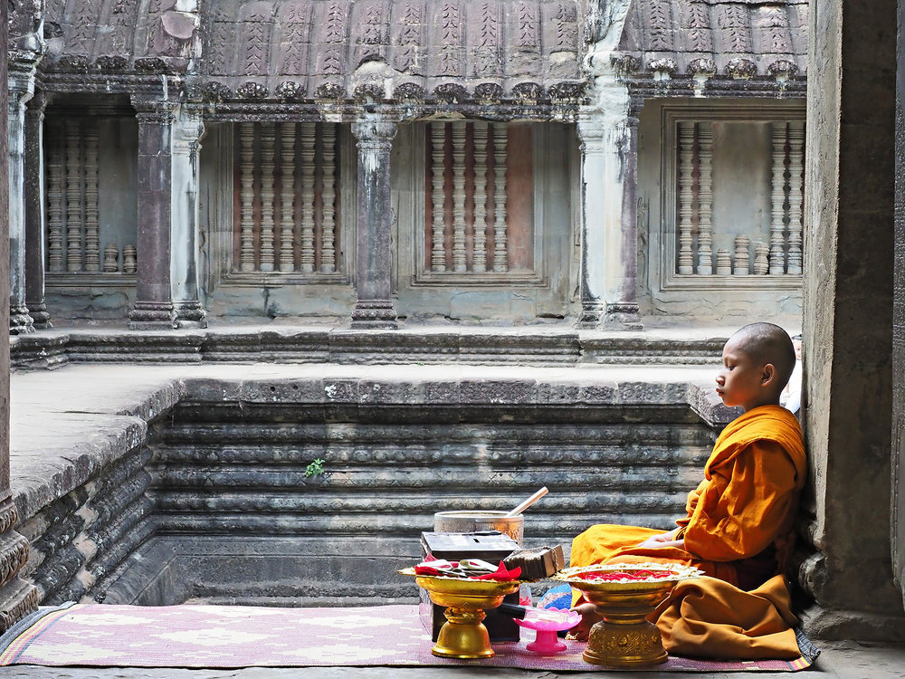 Ranjan-ramchandani_A novice monk at Angkorvat.jpg