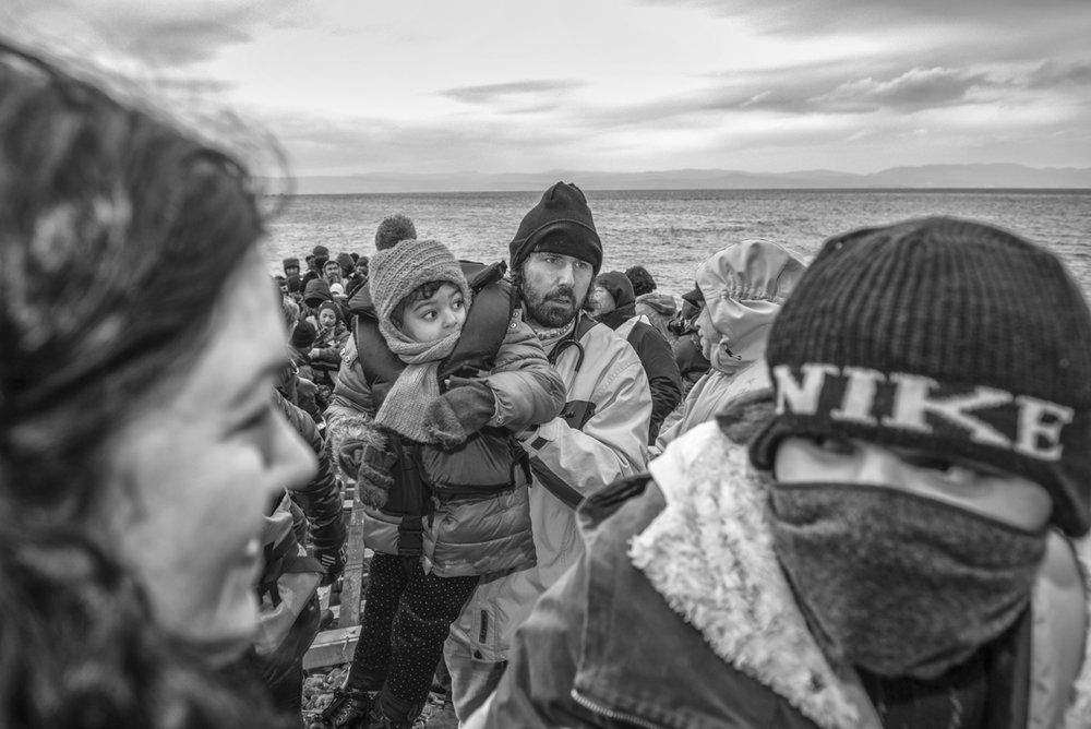 © Margarita Mavromichalis (Greece). Winner of the 12th Julia Margaret Cameron Award for Women Photographers, Non Professional Section. From the series Lesvos, the Arrival