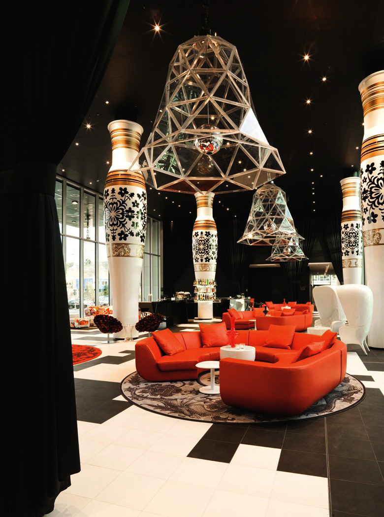 WORLD FAMOUS DESIGN - BY MARCEL WANDERS & GABRIELLA ASZTALOSFilled with passion that is inspired by the style, the emotions and the love of sweet life: this is how BudaBaroN lives.We have committed ourselves to realize your dreams. For this, besides the unique design we unite the most exquisite world-class furniture brands.This is an unbeatable opportunity to dream together with our greatest designers - Marcel Wanders and Gabriella Asztalos.Fasten your seatbelts, this is going to be crazy? Extravagant?