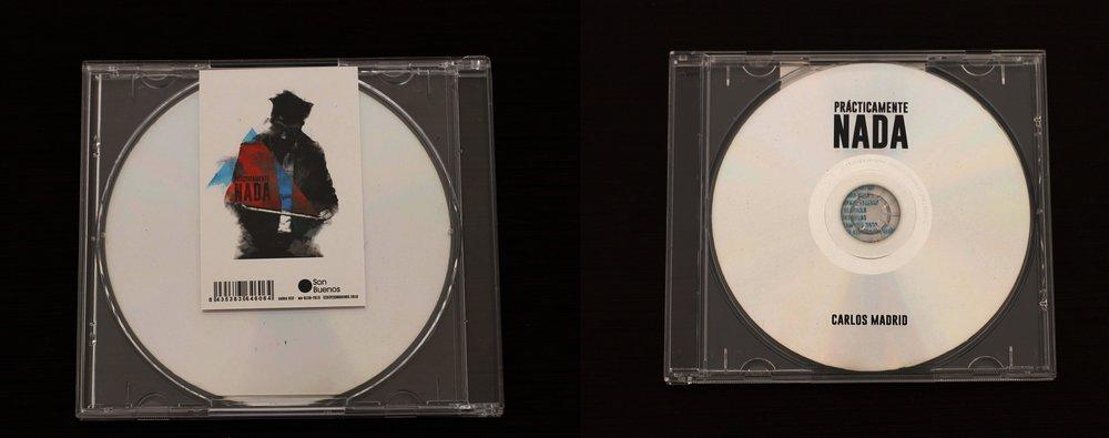 ¡BONUS TRACK EXTRA! - En el CD encontrarás una tarjeta con un código QR que donde podrás acceder a la escucha del disco en streaming y un bonus track exclusivo