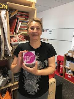 Clare with the Nesta New Radical Award