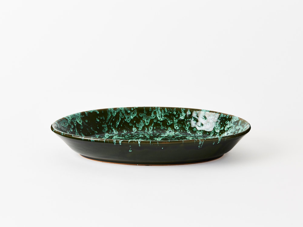 Large Splatter Oval Platter    £60.00