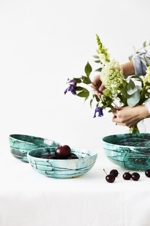 Italian Ceramic Bowls Turquoise_Styling 4.jpg