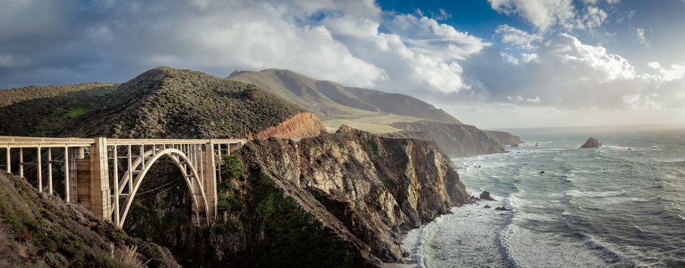 The Bixby Bridge (Monterey County, California, USA)