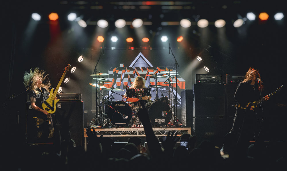 STRYPER  - Live in Melbourne - 17/8/18  Oz Fox (guitar) didn't make it to Australia this year due to a serious health issue, but even as a three-piece, STRYPER were still able to put on an incredible live show!