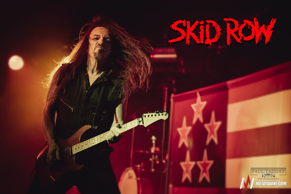SKID ROW  - Live in Melbourne - 19/10/18