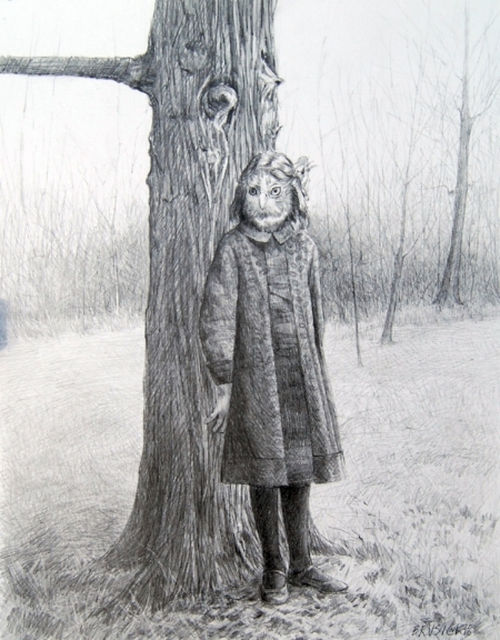Edith   2010, graphite on Bristol paper, Image size: 12.50 x 9.50 inches