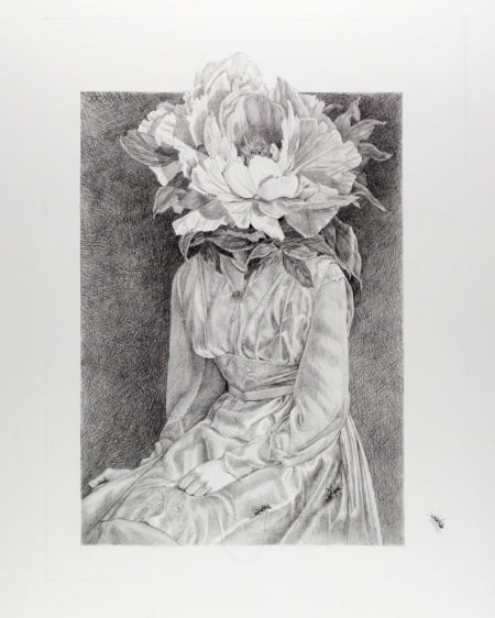 Sweet Possession   2011, graphite on Bristol paper, Image Size: 20 x 15 inches