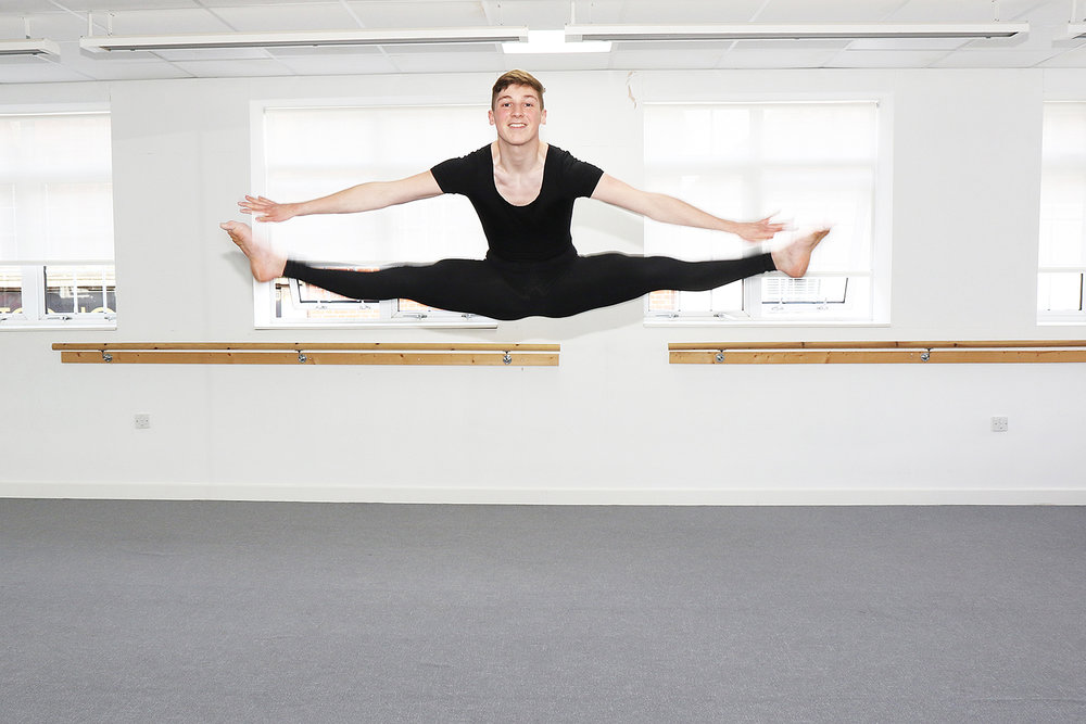 Louis Parkins, who starts at the London Studio Centre in September