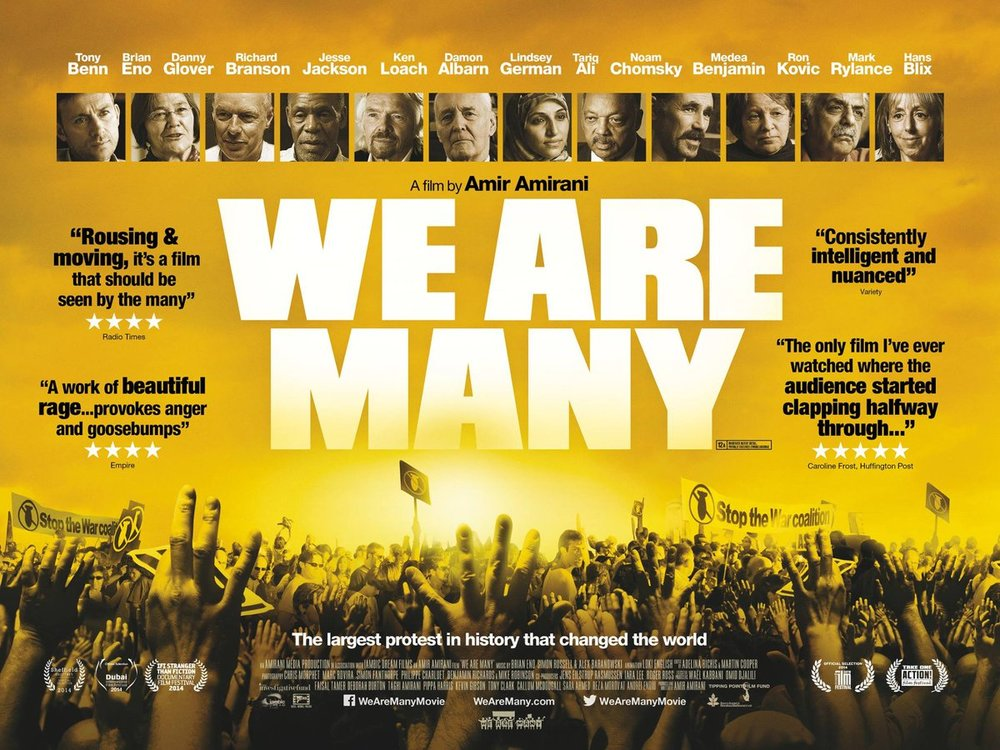 The story of the biggest demonstration in human history, which took place on 15th February 2003, against the impending war on Iraq. It isn't just a film, not just an event in the past.
