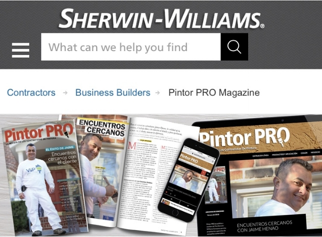 Sherwin Williams Pintor PRO Magazine.jpg