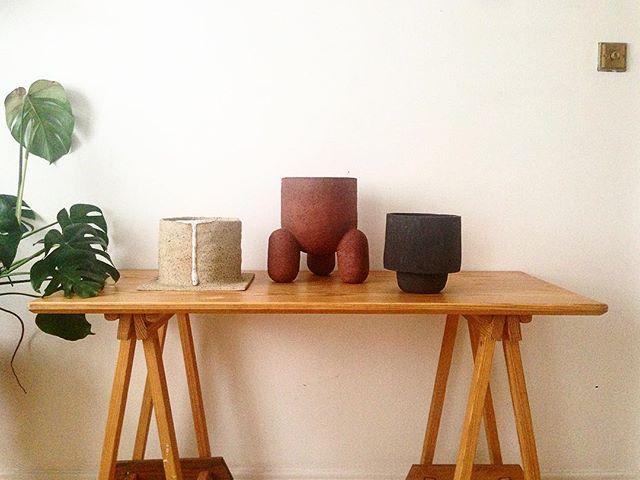 🏺🏺🏺#potspotspots #forplants🌿 #clay #ceramics #memastudio