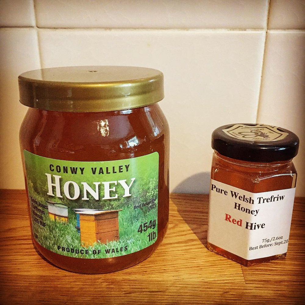 - Mid month we visited the annual Conwy Honey Fair where we were delighted to find honey made in Trefriw! The Fair dates back more than 700 years to the reign of King Edward I, when local beekeepers were first given the right to sell honey within the walls of Conwy every 13th September without charge.