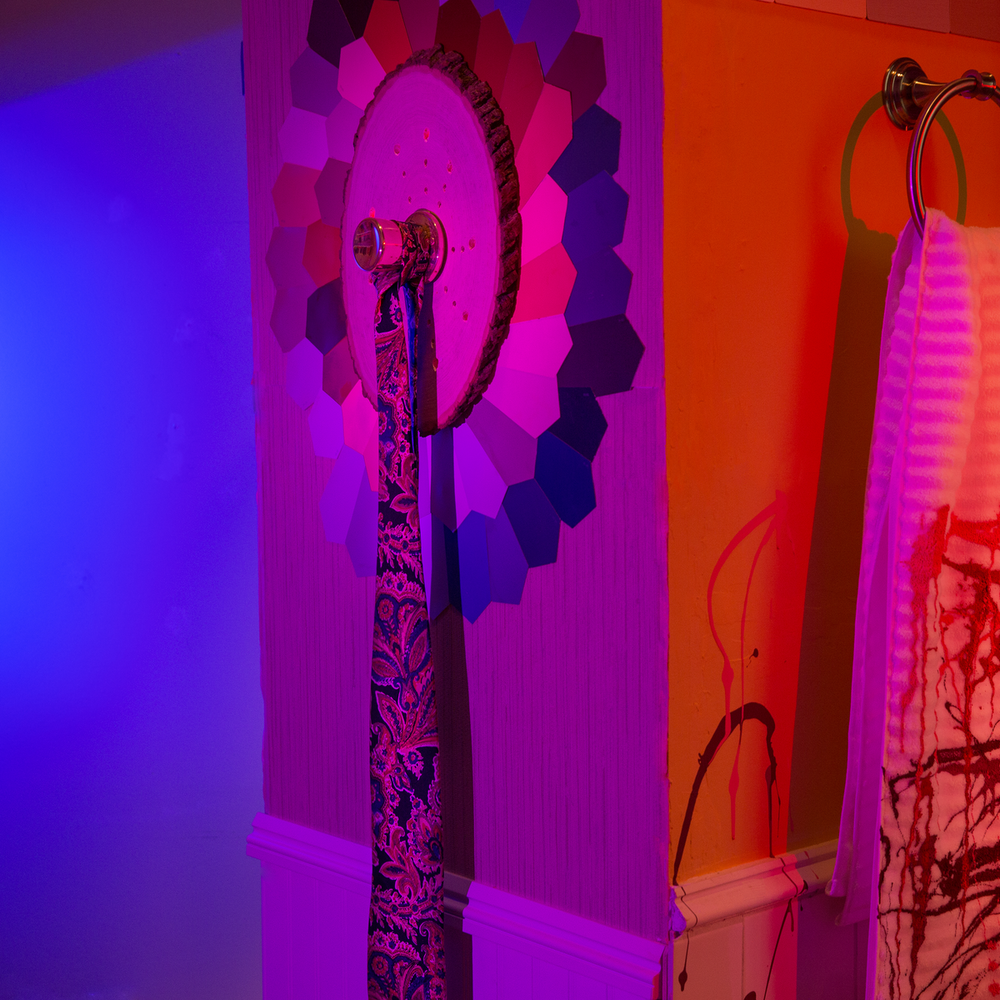 I would prefer not to.  (detail)  2015  mixed media installation