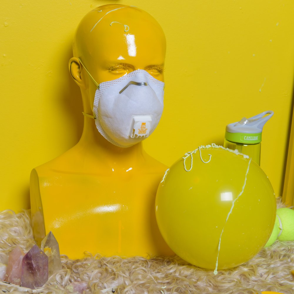 The Yellow Room  (detail)  2018  mixed media installation