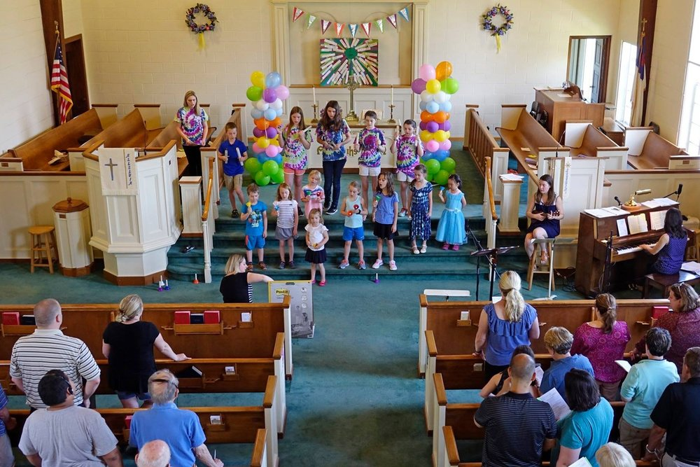 United Church of Pittsford Children's Sunday
