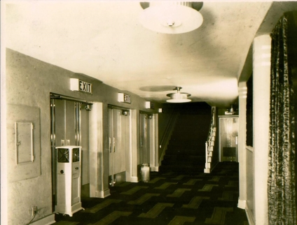 The old lobby
