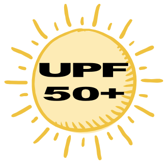 - Our cover fabrics have a UPF rating of 50+, meaning our covers block over 98% of harmful UV rays!