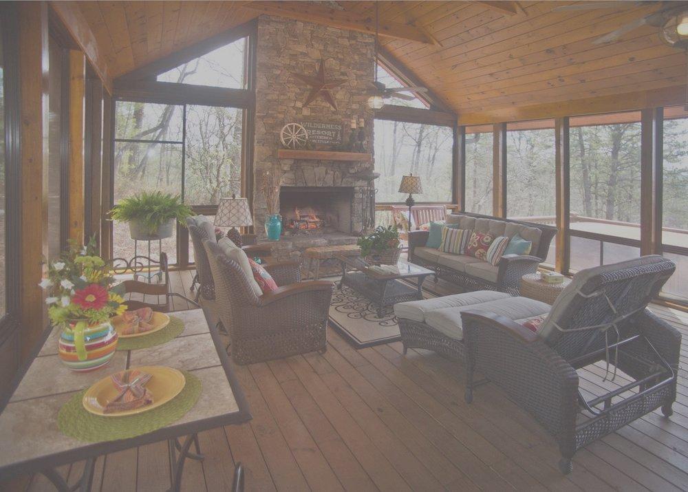 Wagon Trail Porch -