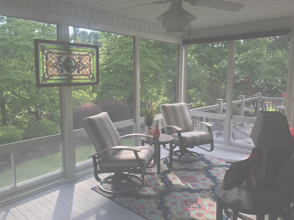 Lake Hartwell Porch -