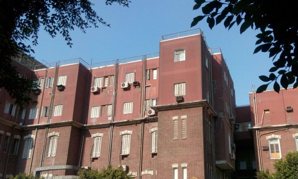 The Coptic Hospital near Ramses Square