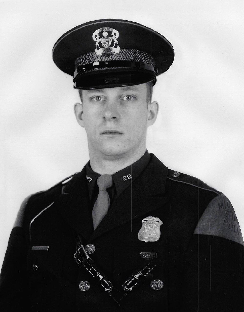 Richard L. Migala, during his time as a Michigan State Trooper