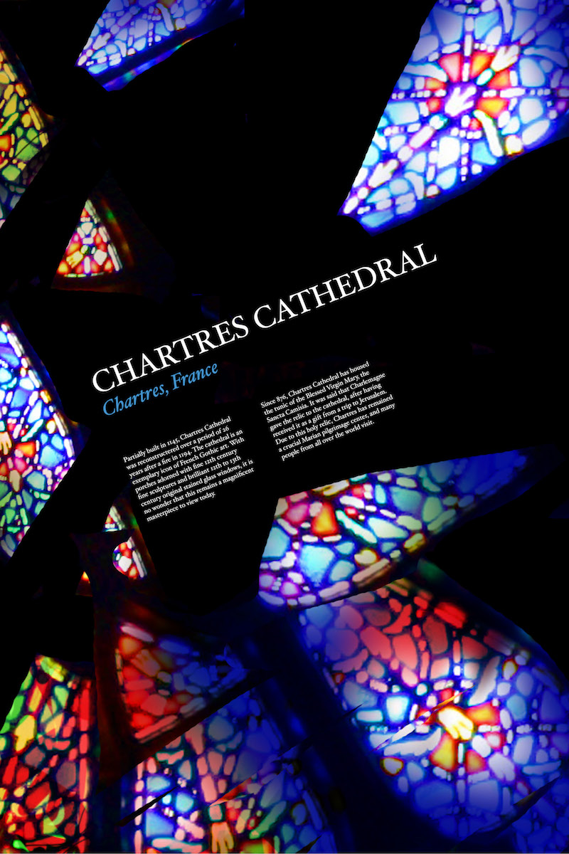 LIGHT & COLOR POSTERS - stained glass windows