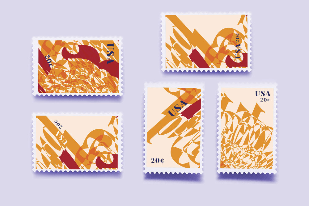 postage stamps - based on beethoven