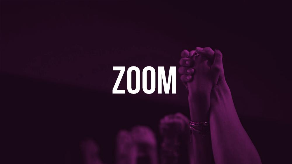 Zoom es el grupo de matrimonios de Comunidad PAS con reuniones quincenales.