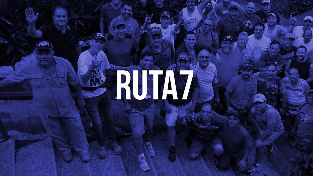 Ruta 7 es el grupo de hombres de Comunidad PAS con reuniones semanales dirigidas a ellos.