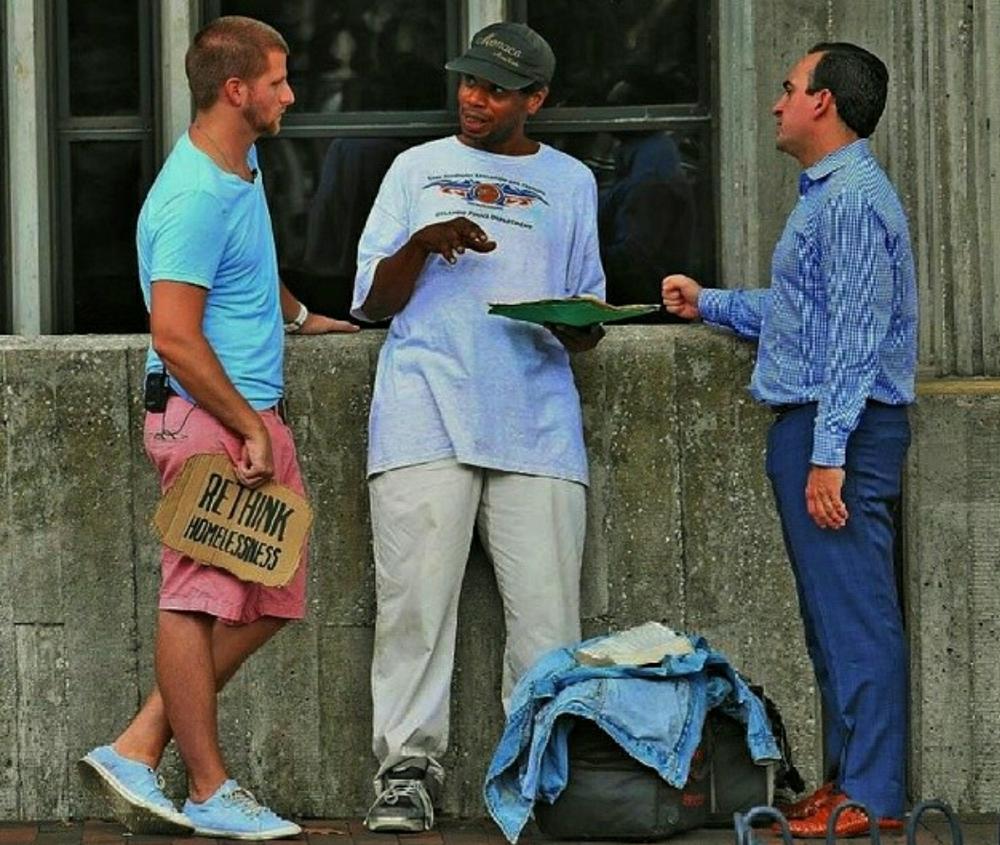 Ron Orlando Homeless