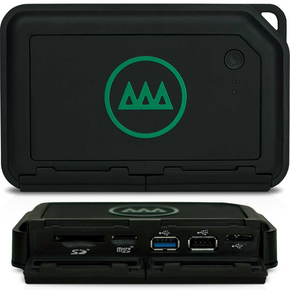 Gnarbox - Portable Backup & Editing System