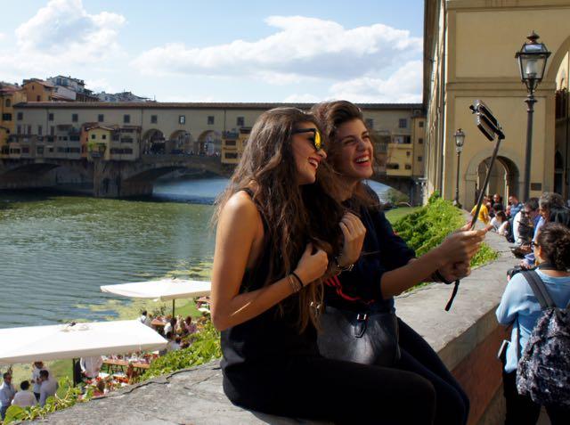 Selfie at Vecchio Ponte
