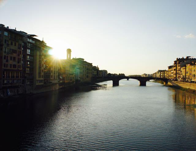 Sunset Ponte Vecchio