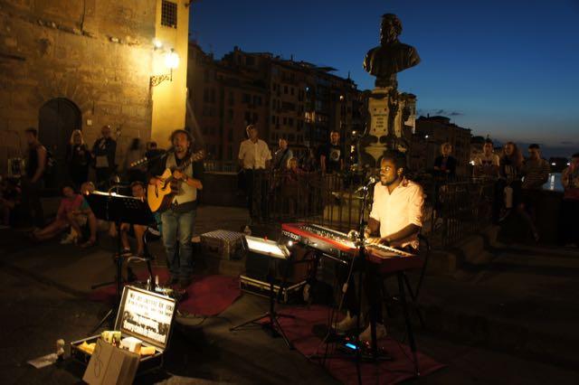 Busking Ponte Vecchio