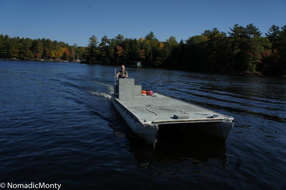 Barge Pickup