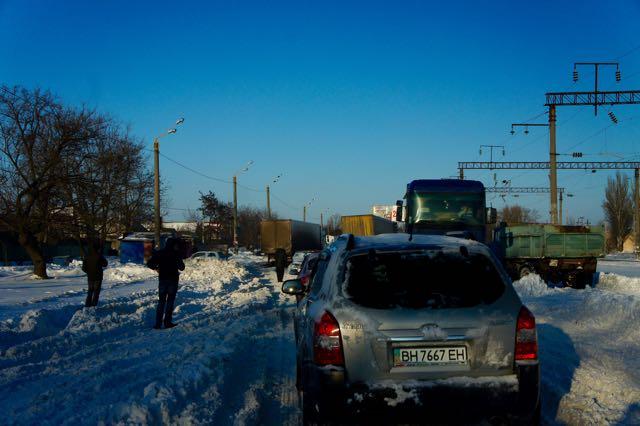 Leaving Odessa