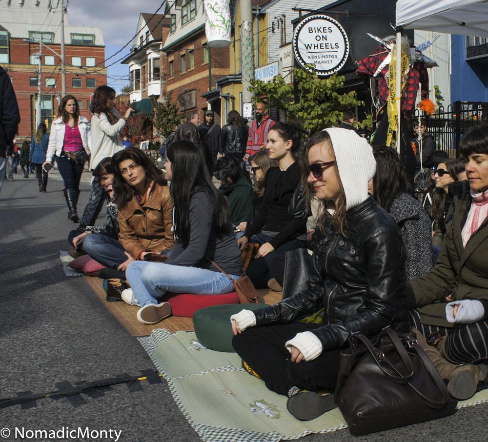 Meditation in the Street