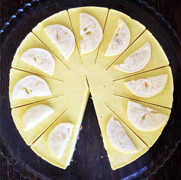 Raw Lemon Cheez Cake