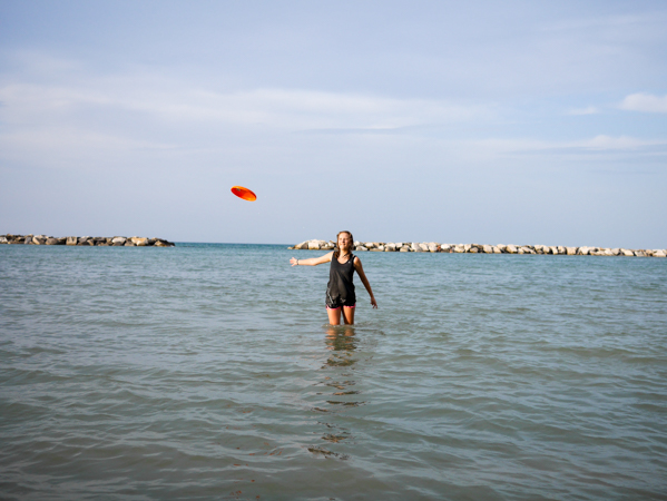 Frisbee Spiaggia Di Fiorenzuola