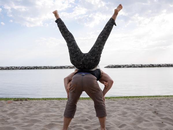 Spiaggia Di Fiorenzuola Beach Exercise