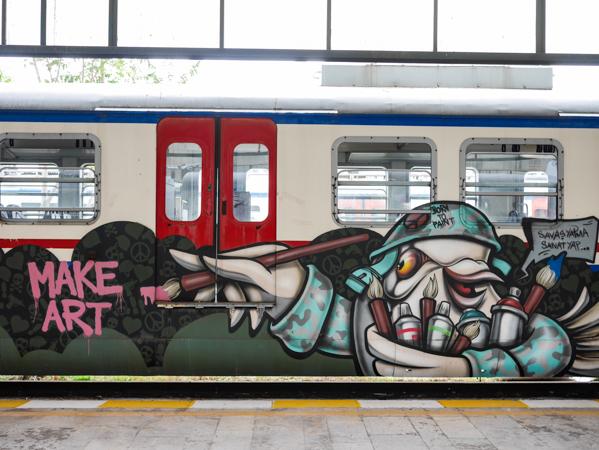 Make Art, Haydarpaşa Station