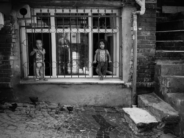Prisoners of poverty.