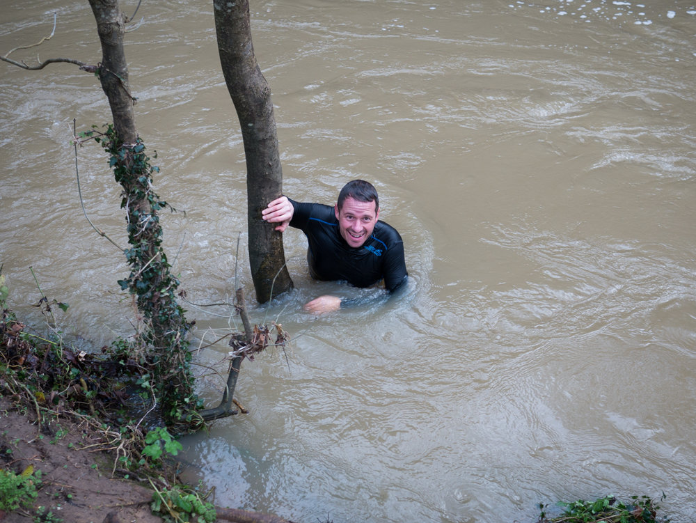 The River Mole Plunge