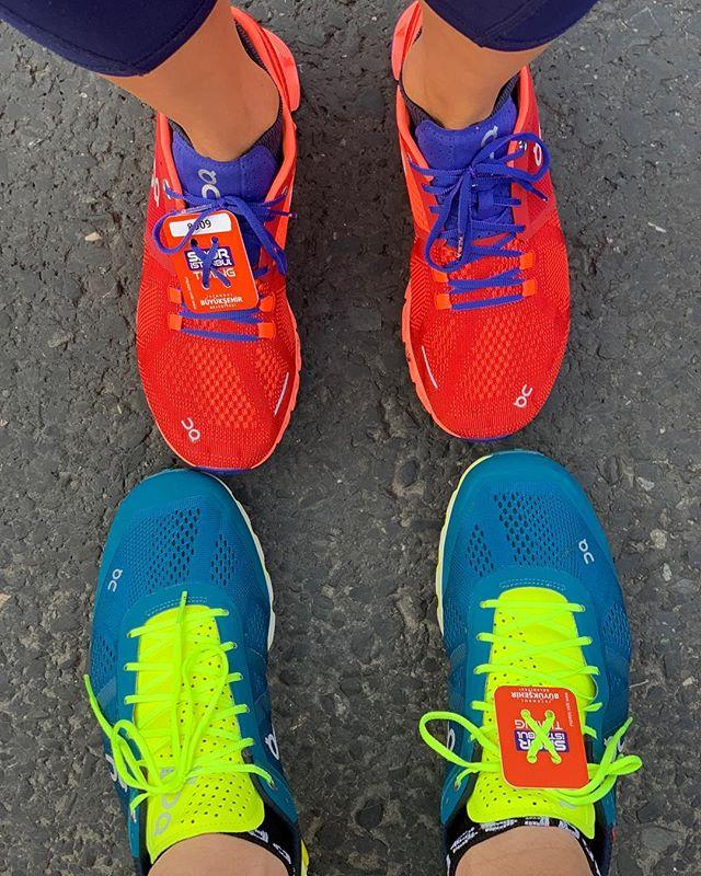 Istanbul Marathon 2018 ☁️ @minnosh4er @on_running #istanbulmaratonu #istanbul #istanbulmarathon2018