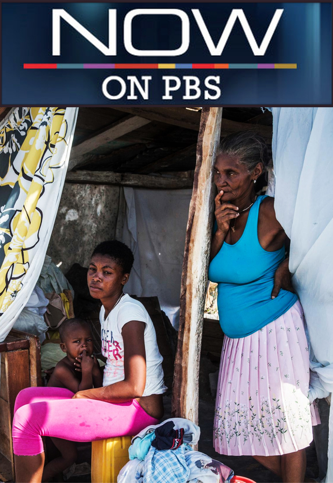 Field Producer & Cinematographer - NOW on PBS (and the BIR)A documentary featuring heroic efforts to get women in troubled labor out of the remote mountainous villages of Haiti (aired Jan. 29, 2010).