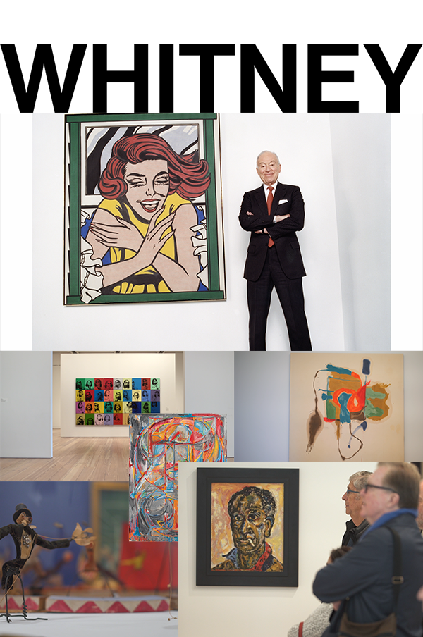 - Director & Producer Whitney Museum of American Art     Renowned businessman and art collector devotes his life to donating art to musuems, culminating in $1 billion gift of Cubist works to the Met  (April 2016)