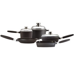 Family set - EuroCAST Family Set$599 (save $50)Five items of essential cookware, four handles and three lids.