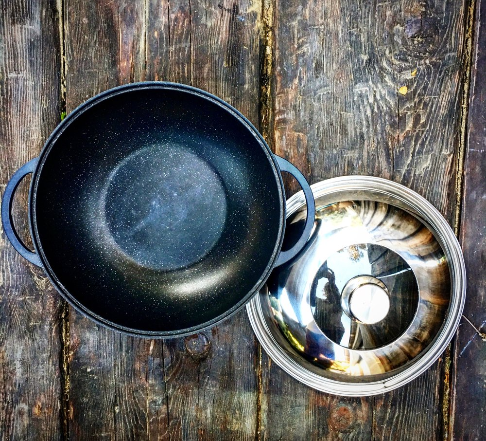 "EuroCAST 12"" Chinese wok. Special offer below."